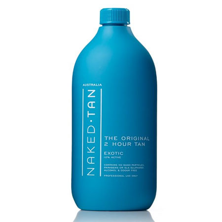 Naked Tan Exotic Solution 12% DHA - 1L - DBC Hair & Beauty